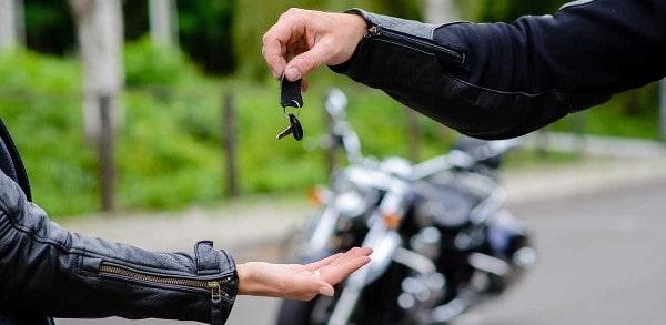Tramites de una compraventa de moto