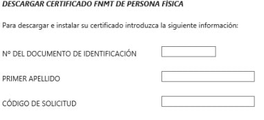 Descargar certificado digital