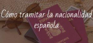 Cómo tramitar la nacionalidad española